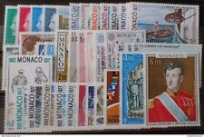 1977 - MONACO ➤➤➤➤➤ ANNEE COMPLETE - N°1079 à 1124 - neuf