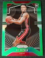 2019-20 Panini Prizm KZ Okpala SP Rookie RC Green Prizm #275 Miami Heat