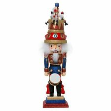 Hollywood Music Box Hat Nutcracker Suite Wooden Christmas Nutcracker 20 Inch New