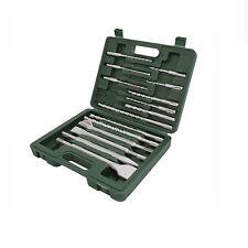 SDS Bohrer und Meißel Set Flachmeißel  für BOSCH Hammer GBH 2000 2400 2800 3000