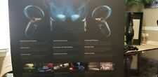 Oculus Rift S headset and two controllers, pc powered ready for use.