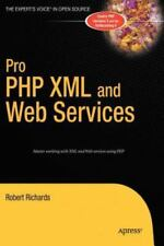 NEW Pro PHP XML and Web Services by Robert Richards Hardcover Book (English) Fre