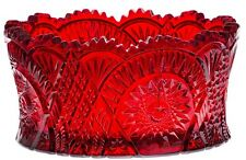 Bowl - Diamond Classic - Red Glass - Mosser USA