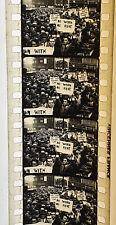 ANCIEN FILM 35mm GRANDE DÉPRESSION ÉTATS-UNIS KRASH BOURSIER 1929 PATHÉ VINCENNE