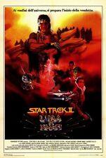 STAR TREK 2: THE WRATH OF KHAN Movie POSTER 27x40 Italian Leonard Nemoy