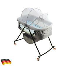 Babywippe Stubenwagen Babywiege Beistellbett Babybett Reisebett mit Rollen
