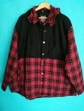 3XL MENS CRAFTSMAN RED FLANNEL SHIRT JACKET NEW W/ TAGS.