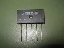 Diotec dbi25-16 puentes-rectificadores 3-fases 1600v 25a Metal Case 40x20x10mm