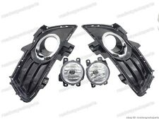 Front fog lights with covers bezels kits for Ford Fusion 2013-2016
