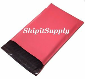 1-1000 10x13 ( Pink ) Color Poly Mailers Shipping Boutique Bags Fast Shipping