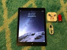 NEAR MINT Apple iPad Air 1st Gen. 32GB WiFi 9.7in Space Gray IOS 8.1.2 (6PEG)