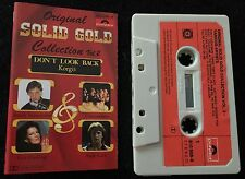 Solid Gold Vol 2 (Andy Gibb, Jackson 5, 10cc) ~ VARIOUS ARTISTS Cassette Tape