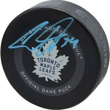 Auston Matthews Toronto Maple Leafs Fanatics Authentic Signed Official Game Puck