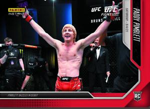 PADDY PIMBLETT UFC ROOKIE CARD 2021 PANINI INSTANT UFC #34 PRE ORDER CASH COW