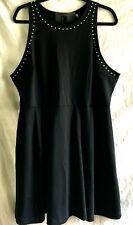 MOSSIMO Dress  BLACK with STUDS NWT size XXL