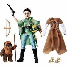 Star Wars Forces of Destiny Endor Adventure Princess Leia & Ewok Wicket Doll Toy