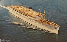 Postcard - Cruise Ship S.S. Lurline - Matson Lines - Vintage  1960's Unused