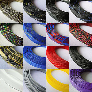 16MM Tight Braided PET Woven Expandable Sleeving Sleeve