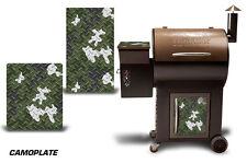 Traeger Fumoir Grille Graphique Kit Décalque Emballage Skin Pour Costco Siècle