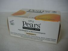 Pears Hypoallergenic Non-Comedogenic Transparent Soap Bar, 125g