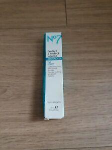 No7 protect & perfect advanced eye cream, 15ml, brand new