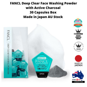 Fancl Deep Clear Face Washing Powder 30 capsules box Made in Japan AU Stock