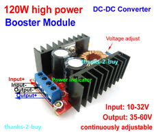 DC-DC 12V-36V 24V to 36-60V 48V Step-up Boost Converter Car Power Supply Charger