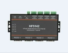 NSEE HF5142 4 Ports Serial RS232 RS485 RS422 To LAN Ethernet Server Converter