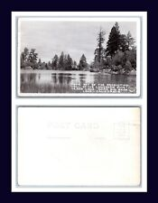 California Cedar Lake Movie Set Trail Of The Lonesome Pine Frasher Circa 1940
