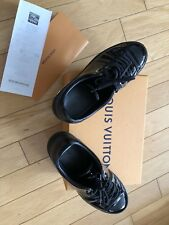 Louis Vuitton Frontrow  Patent Sneakers, 36.5