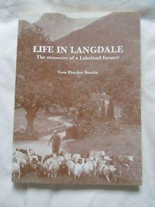 @Life in Langdale-Memoirs of a Lakeland Farmer by Tom Fletcher Buntin PB Book@