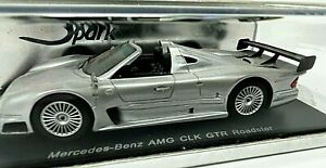 Spark Mercedes-Benz AMG CLK GTR Roadster (Silver) 1/43 Scale S0163 <z07>
