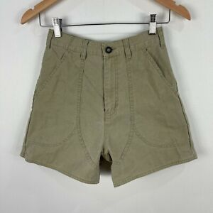 Patagonia Womens Shorts 4 Olive Green High Rise Pockets Outdoors