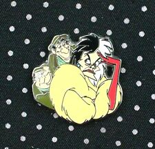 Disney Pin 101 Dalmatians Cruella De Vill Horace and Jasper Free Shipping *