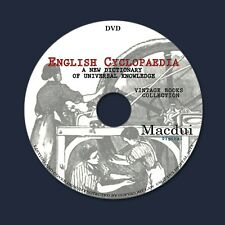 English Cyclopaedia – Vintage E-books 8 Volumes PDF on 1 DVD Birds Animals