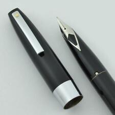 Sheaffer 330 Fountain Pen - Black, Fine Short Diamond Nib (New in Box)