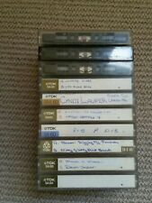 10 TDK SA 60 chrome audio cassette tapes. Made in Japan.  See description