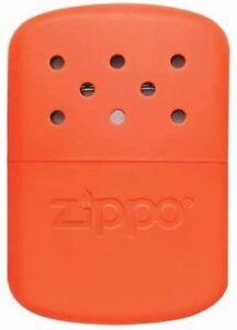 Hand Warmer ZIPPO New (Heating Hands) Orange (Petrol, Rechargeable)