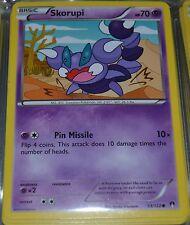Skorupi # 53/122 XY Breakpoint Set Pokemon Trading Cards Break Point MINT