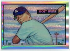 1996 Topps Mantle Finest Refractor 1 Mickey Mantle 1951 Rookie Reprint