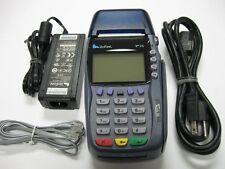 VeriFone Vx570 EMV Dial & Ethernet Terminal w/ Smart Chip Reader