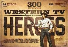 Western TV Heroes, Vol. 1: 300 Episodes (DVD, 2014, 24-Disc Set) - NEW!!