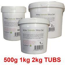 More details for silica gel granular sand 0.5-1mm grains  - 500g 1kg 2kg tubs for flower drying