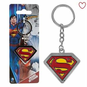 Superman Key Chain Ring Novelty Gift Father's Day Superhero
