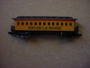 Bachmann N Scale Boston & Maine RR Passenger Car