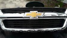 Original GM 2016 Chevy COLORADO WT GRILLE black & Chrome.