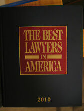 The Best Lawyers in America 2010 Vol. 1 by Steven Naifeh and Gregory White...