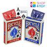 Bicycle Rider Espalda Jumbo Índice Póker Carta de Juego Trucos Magia Rojo Azul