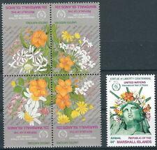 Marshall Inseln - Weihnachten Satz postfrisch 1986 Mi. 96-100