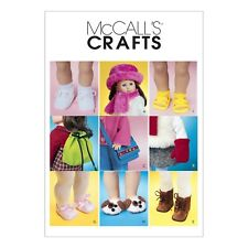 "McCall's Pattern 18"" DOLL ACCESSORIES -3469"